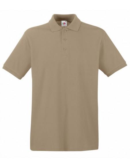 180 g/m² (White: 170 g/m²) 100% algodón (Ash: 90% algodón, 10% poliéster) Tapeta de 3 botones del mismo color de la prenda