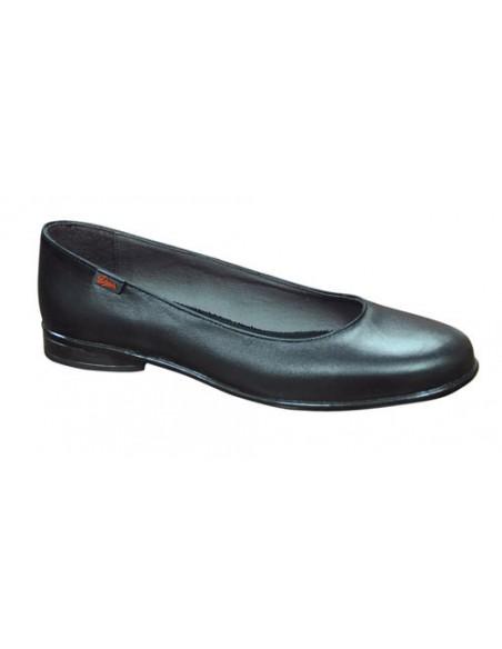 CARACTERISTICAS - PRESCRIPCIONES Zapato femenino tipo salón de piel napa flor, forrada en la pala con piel de porcino. Horma r