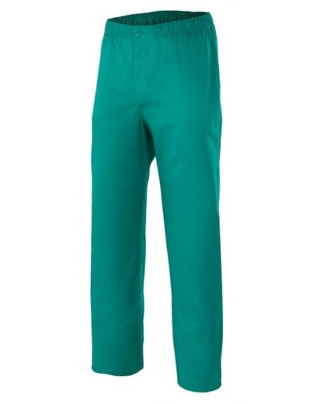 -Composición: 65% Poliester, 35% Algodón -Pantalón pijama con cinturilla elástica y un bolsillo trasero, con botón y cremaller