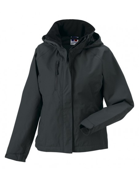 190 g/m²  Exterior: 100% nylon taslan con revestimiento PU  Interior: forro de malla  Costuras selladas, impermeable (2.0