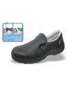 - Zapato PANTER tipo mocasín de Microfibra negra certificada transpirable y lavable. - Color negro. También en stock color bla