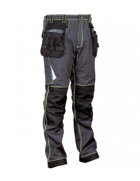NORMATIVA:  EN ISO 13688:2013  DESCRIPCIÓN:  bolsillo porta metro, 2 amplios bolsillos delanteros, tiro reforzado, doble bol