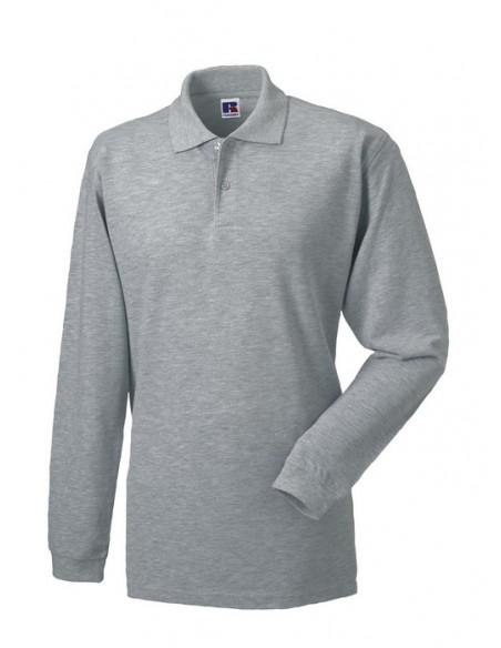 200 g/m² (White: 195 g/m²) 100% algodón ring-spun piqué (Light Oxford: 93% algodón, 7% poliéster) Cuello encintado Tapeta co