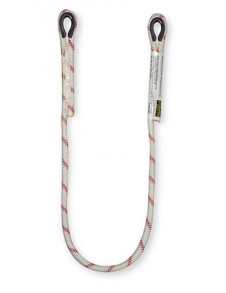 Cuerda de 1 metro. Características: Cuerda de 12mmØ con dos gazas laterales con guardacabos. Elemento de amarre de longitud f