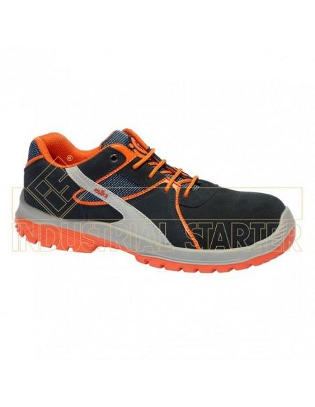 EN ISO 20345 S1P SRC Zapato S1P SRC Metal Free (sin componentes metálicos + puntera en composite y lámina textil) en piel serra