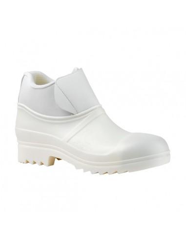 Altura: 14 Composición: PVC + polipiel + textil. Color de la bota: blanco. Color de la suela: mismo que la bota. Acabado: m
