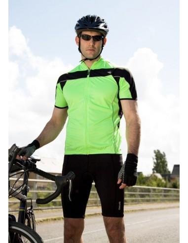 170 g/m²  100% poliéster (Interlock, COO-DRY® yarns)  Paneles con forma y transpirables  Protección UV  Mantiene la pie