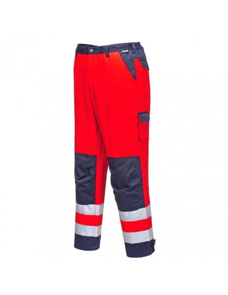Estos pantalones tienen buen aspecto y sientan bien. El moderno contraste de colores se combina con bolsillos para el móvil y b