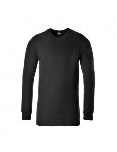 Una camiseta de manga larga que proporciona la máxima calidez en todo momento. La confección del material permite que la piel t