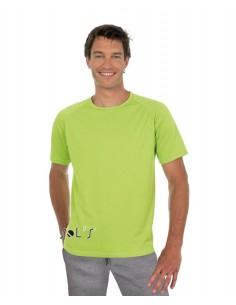 Camiseta Hombre Mangas Raglán Características Calidad 140 Mesh Poliéster 100%  Poliéster con Efecto Respirante Ribeteado en
