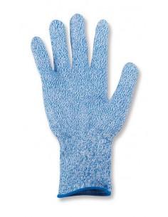 guante anti-corte nivel 5 color azul para industria alimentaria. Aplicaciones: Trabajos relacionados con la industria alimenta