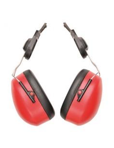 Protector EN352-3 de fácil uso y proporciona la protección adecuada.Las grandes copas acústicas rellenas de espuma ofrecen una