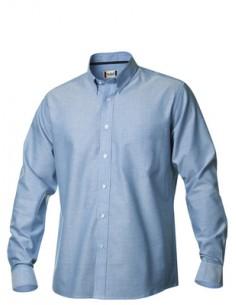 Descripción  Camisa Oxford manga larga con botón en mangas y cuello, canesú trasero y bolsillo frontal. Acabado Easy Care.