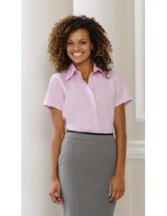 Camisa Mujer (no necesita plancha) 120 g/m² 100% Algodón micro sarga No necesita planchado Cuello cómodo con puntas largas