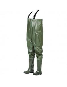 Esta prenda está hecha de un tres capas de PVC (PVC + tela + PVC). Uno de los puntos fuertes es que estamos frente a un produc