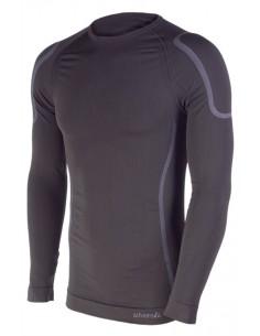 La camiseta térmica Nanuq está diseñada para el uso contínuo en condiciones adversas de frío y humedad, proporcionando al traba