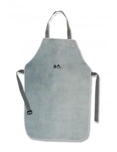 Mandíl de piel serraje. 90 x 60cm. EN 340 Ropa de proteccion utilizada durante el soldeo y procesos afines.EN 11611