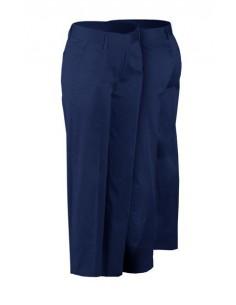 El modelo Esmeralda es un pantalón tipo chino de señora, fabricado en algodón con elastán, mismo tejido que se usa para el pant