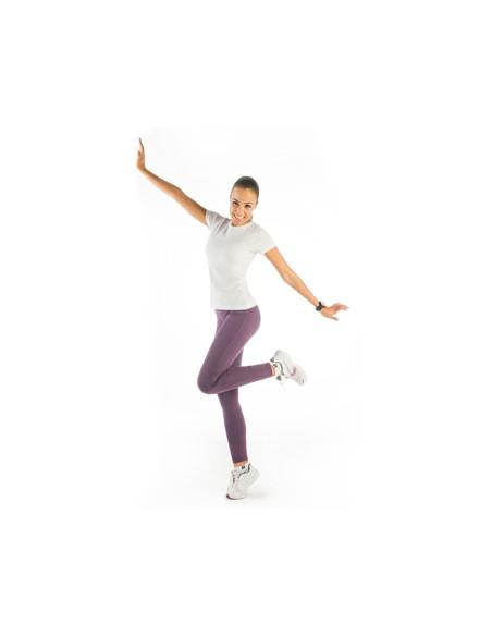 Leggings mujer. Malla larga con cinturilla elástica y costuras laterales. Diseño anatómico. Textura extra suave.  92% algodón