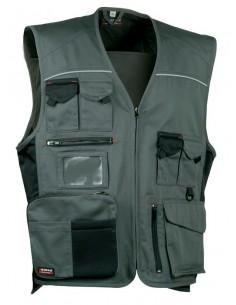 NORMATIVA:  EN ISO 13688:2013  DESCRIPCIÓN: 1 bolsillo trasero, 2 amplios bolsillos delanteros uno con cierre de cremallera,