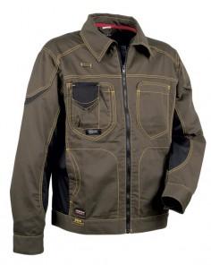 LINEA_1: WORKWEAR 245 g/m2  TIPOLOGÍA: cazadora  NORMATIVA:  EN ISO 13688:2013  DESCRIPCIÓN: amplios bolsillos interiore