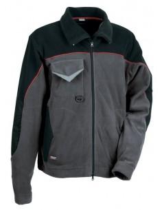 DESCRIPCIÓN: amplios bolsillos en el bajo de la prenda con cierre de cremallera , pasador porta tarjeta, abertura central con c
