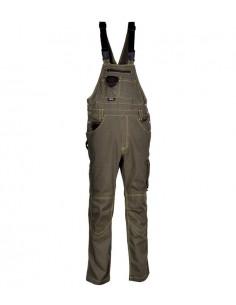 DESCRIPCIÓN: amplios bolsillos delanteros, tirantes ajustables con cierre a engance, doble bolsillo traseros, uno con tapeta, c