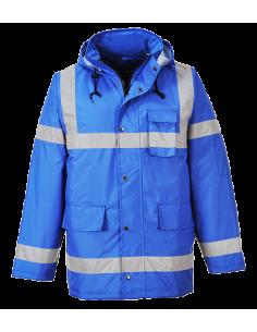 EN 343 Clase 3:1 EN 342 NINGUNA (0.503M². K/W (B), X, 3, 2)  La chaqueta Iona Lite ofrece mayor visibilidad en la oscuridad.