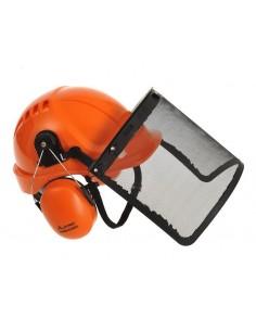 Información del producto Este kit profesional de protección a la cabeza viene completo con visor y protección auditiva. El