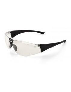 "Mod. ""ZOOM"". Gafa de ocular claro, con patillas y puente nasal flexible. Características: Gafa ocular claro unilente de polica"