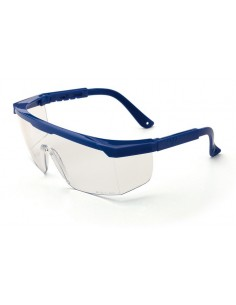 "Mod. ""NITRO"". Gafa de ocular panorámico, con patillas regulables en longitud. Características: Gafa ocular claro unilente de p"