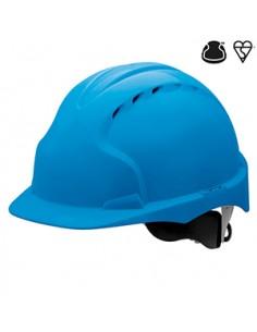 TRADUCCION AUTOMATICA  EVO ® 3 Seguridad Industrial Casco El EVO ® 3 casco Comfort Plus ™ combina un súper fuerte carcasa de
