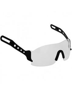 Kit de montaje fácil para añadir un protector de ojos transparente, policarbonato y retráctil a un EVOLite® / EVO3; 8482; casco