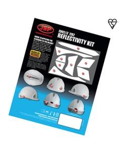 Kit de calcomanías EVO2 / 3 ® CR2 ™ para aplicación automática.  Este kit le permite agregar visibilidad adicional a su protec