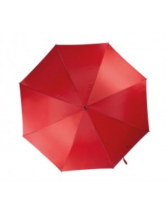 "Paraguas clásico 23"" (58.5 cm) , apertura automática, mástil en metal de 10 mm, varillas en fibra de vidrio, tela 210T, mango c"