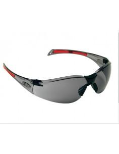 Una gafa de seguridad liviana, que pesa solo 26 g, la lente de policarbonato envolvente de 9 bases curva tiene una pieza de nar