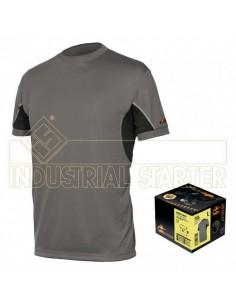 Camiseta te´cnica con alta transpirabilidad y secado ra´pido para quien pre ere vestir en el ambiente de trabajo tejidos deriva
