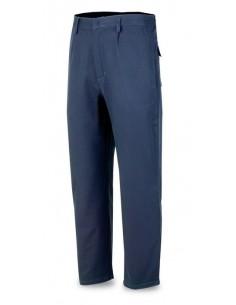 Pantalón IGNÍFUGO y ANTIESTÁTICO. Tejido inherente de 250 gr. con costuras de Kevlar. Protección al calor, el soldeo y proceso