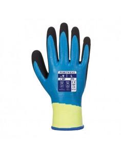 El guante Aqua Cut Pro recubierto totalmente ofrece la máxima resistencia al corte. La primera capa es de suave Nitrilo y la se