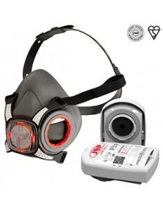 ¿Cómo puede estar seguro de que se ha puesto la máscara correctamente? Con los nuevos filtros Force8 ™ PressToCheck ™ con pate
