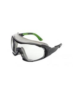 Lente ancha para un campo de visión sin distorsión. Varillas ajustables de longitud e inclinación con tecnología SoftPad Sofi