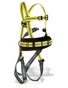 "Arnés mod. ""STEELTEC-1"". Arnés STEELTEC-1 con enganche dorsal y frontal con cinturón de posicionamiento. Características: Arné"