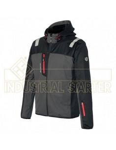 color 080 gris) Softshell de última generación, ligero y cómodo, ideal para trabajo intenso o deportes, para ser usado en meses