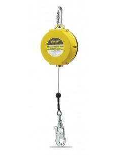Dispositivo Anticaídas Retráctil de 10 metros de cable. Características: Muy ligero y compacto. Carter fabricado en ABS, muy