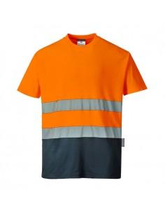 Tejido exterior: Punto 55% Algodón, 45% Poliéster 175g Caja exterior: 48 Información del producto Nuestra popular camiseta h