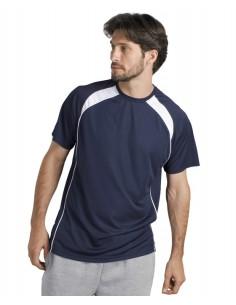 Camiseta Bicolor Hombre Características Calidad 140 Mesh Poliéster 100% Poliéster con Efecto Respirante Estilo Deportivo &